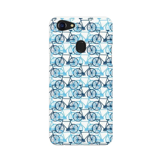 Oppo F5 Blue Cycles Phone Cover & Case