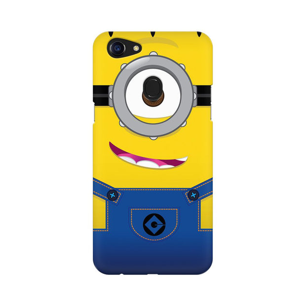 Oppo F5 Smiley Minion Phone Cover & Case