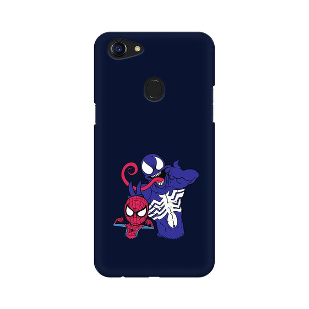 Oppo F5 Spider Man & Venom Funny Phone Cover & Case
