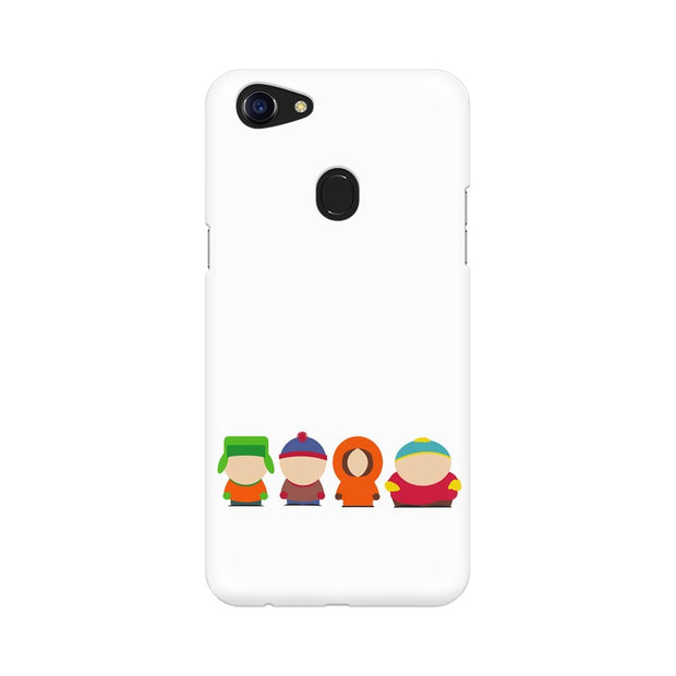 Oppo F5 South Park Minimal Phone Cover & Case