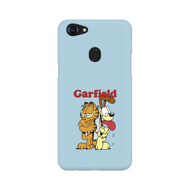 Oppo F5 Garfield & Odie Phone Cover & Case