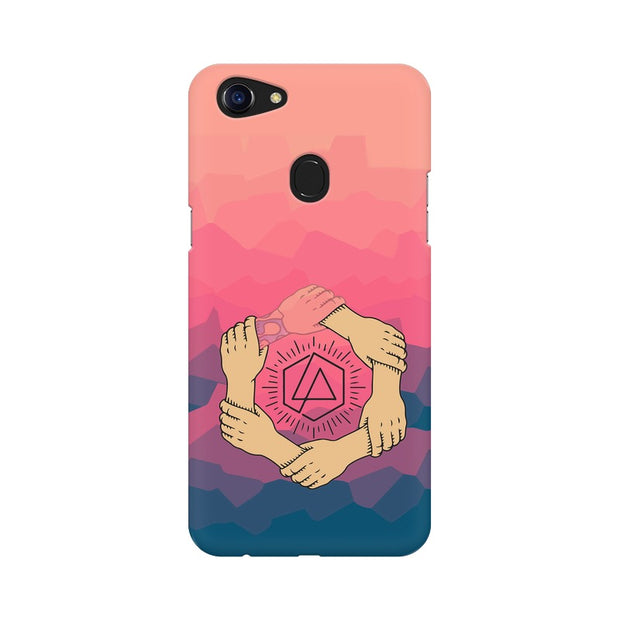Oppo F5 Linkin Park Logo Chester Tribute Phone Cover & Case