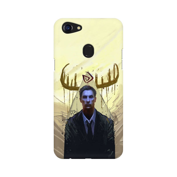 Oppo F5 True Detective Rustin Fan Art Phone Cover & Case