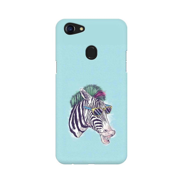 Oppo F5 The Zebra Style Cool Phone Cover & Case
