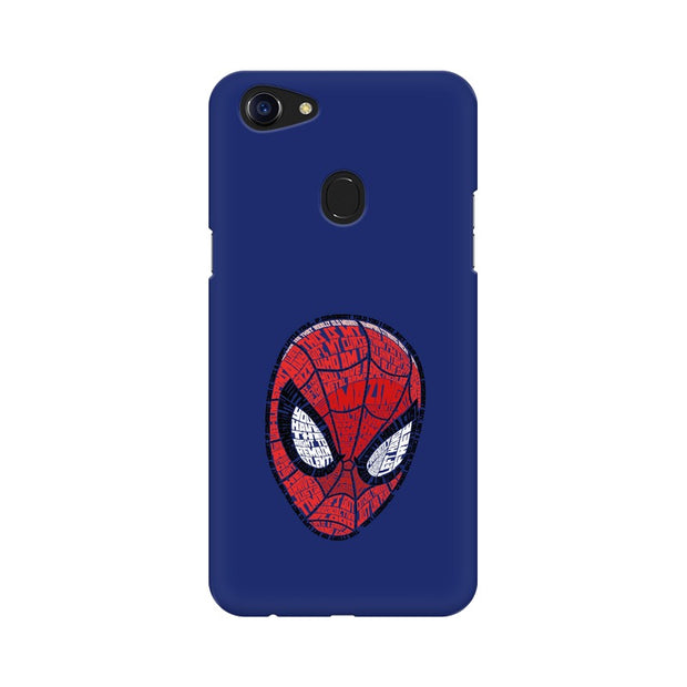 Oppo F5 Spider Man Graphic Fan Art Phone Cover & Case