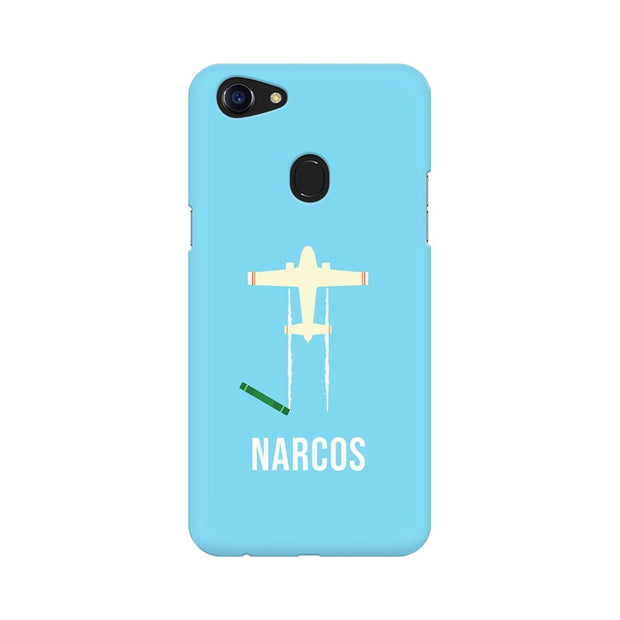 Oppo F5 Narcos TV Series  Minimal Fan Art Phone Cover & Case