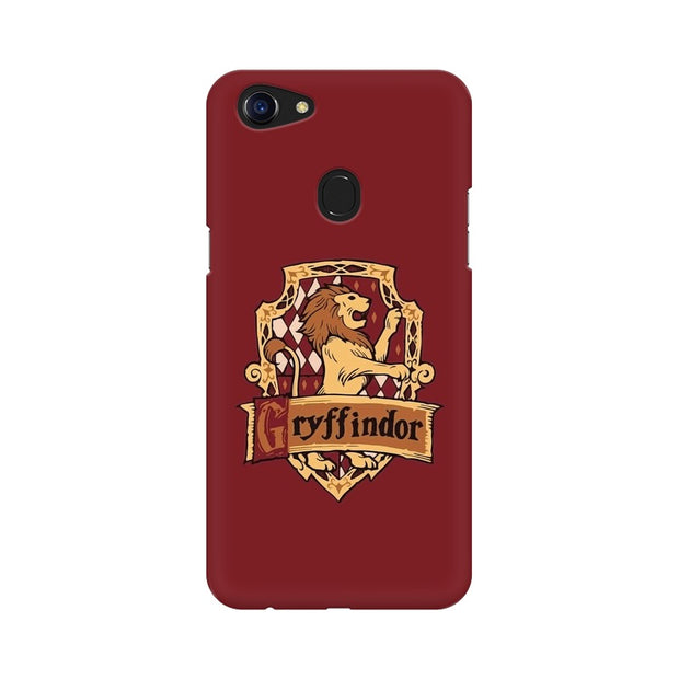 Oppo F5 Gryffindor House Crest Harry Potter Phone Cover & Case