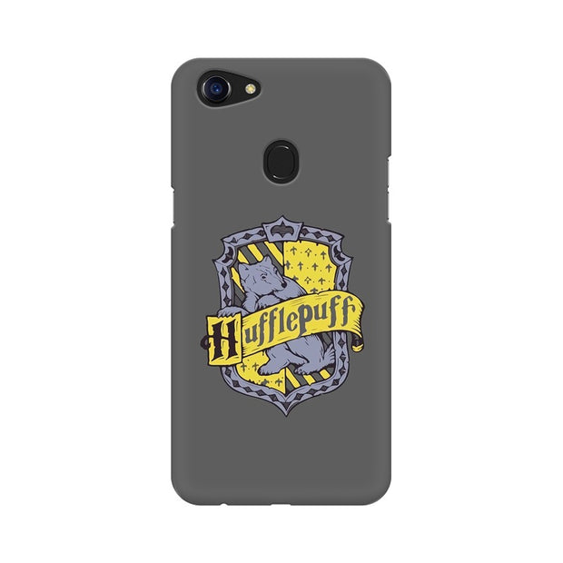 Oppo F5 Hufflepuff House Crest Harry Potter Phone Cover & Case