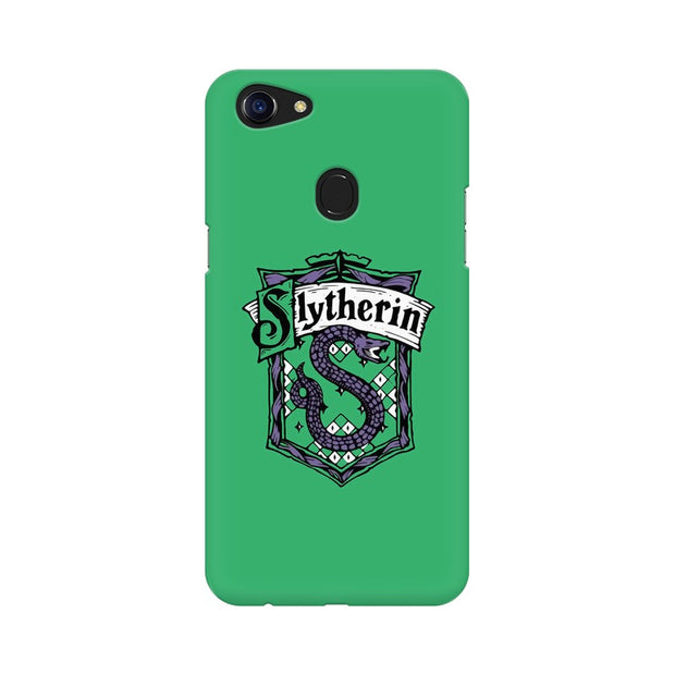Oppo F5 Slytherin House Crest Harry Potter Phone Cover & Case