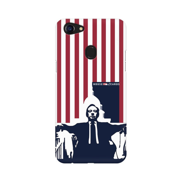 Oppo F5 House Of Cards Underwood On Chair Phone Cover & Case