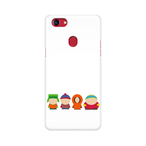 Oppo F7 South Park Minimal Phone Cover & Case