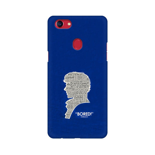 "Oppo F7 When Sherlock Is ""Bored"" Phone Cover & Case"
