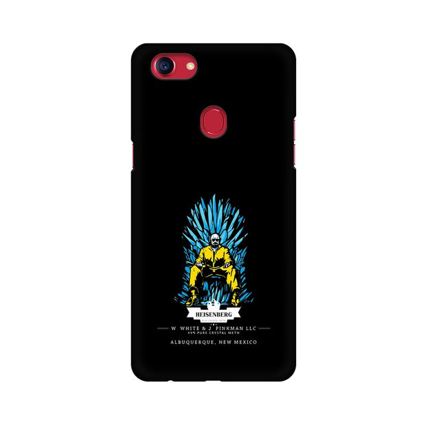 Oppo F7 Walter White on Iron Throne Phone Cover & Case