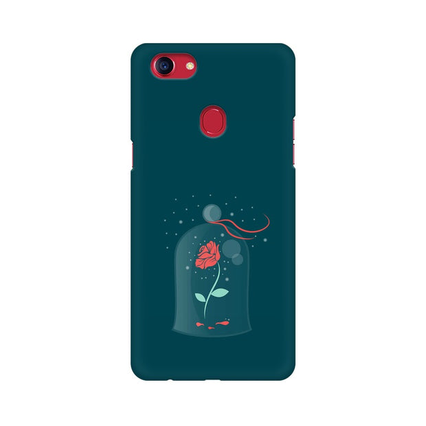 Oppo F7 Rose of Love Beauty & The Beast Phone Cover & Case