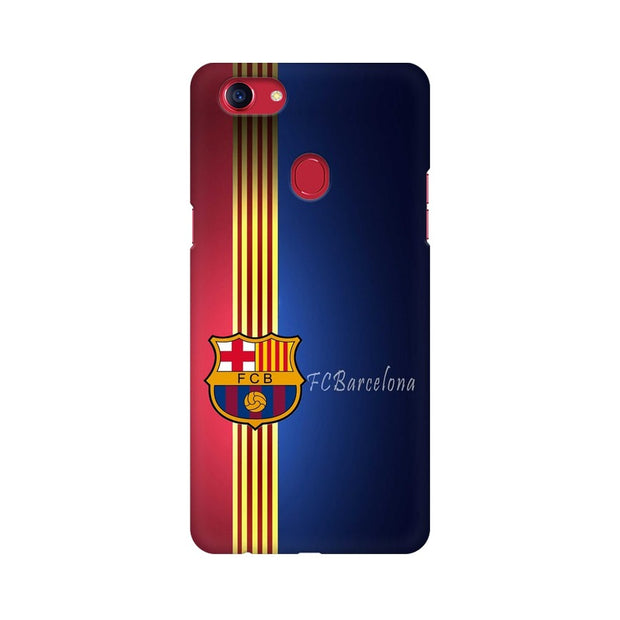 Oppo F7 The Barca Crest Phone Cover & Case