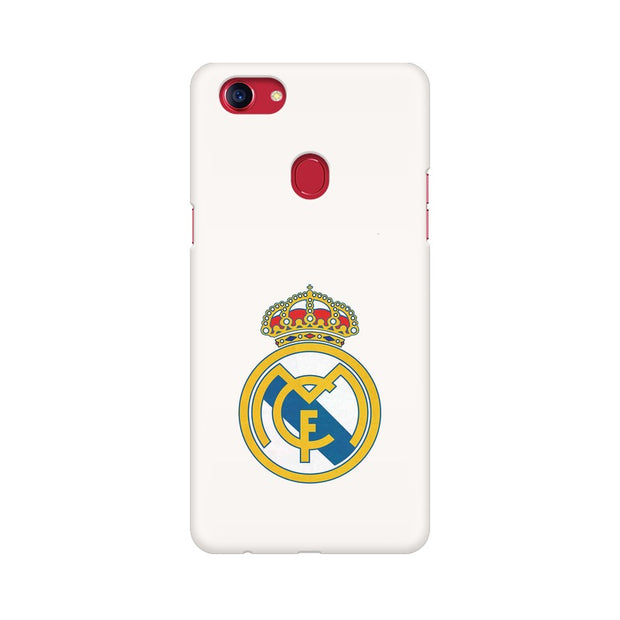 Oppo F7 The Real Madrid Crest Phone Cover & Case