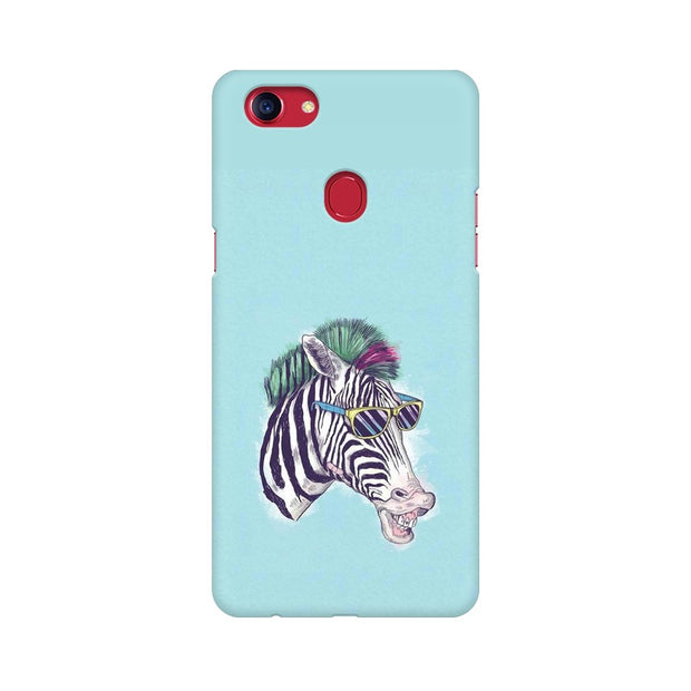 Oppo F7 The Zebra Style Cool Phone Cover & Case