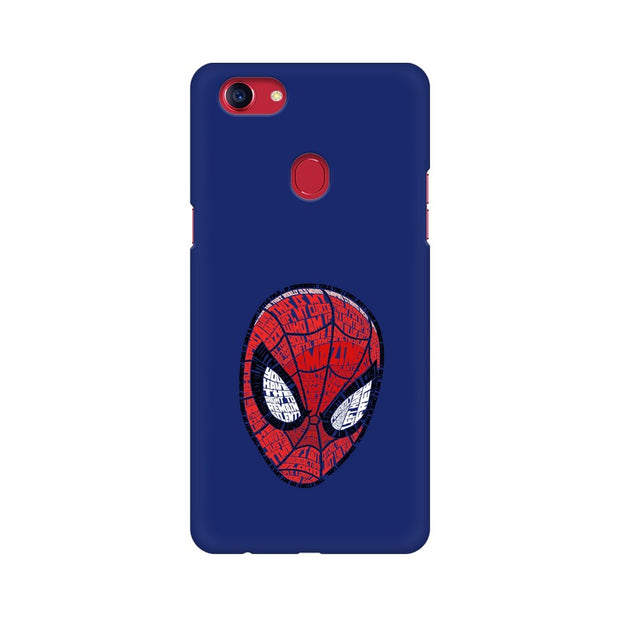 Oppo F7 Spider Man Graphic Fan Art Phone Cover & Case