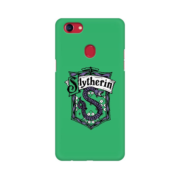 Oppo F7 Slytherin House Crest Harry Potter Phone Cover & Case
