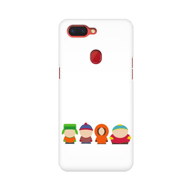 Oppo R15 South Park Minimal Phone Cover & Case
