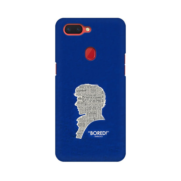 "Oppo R15 When Sherlock Is ""Bored"" Phone Cover & Case"