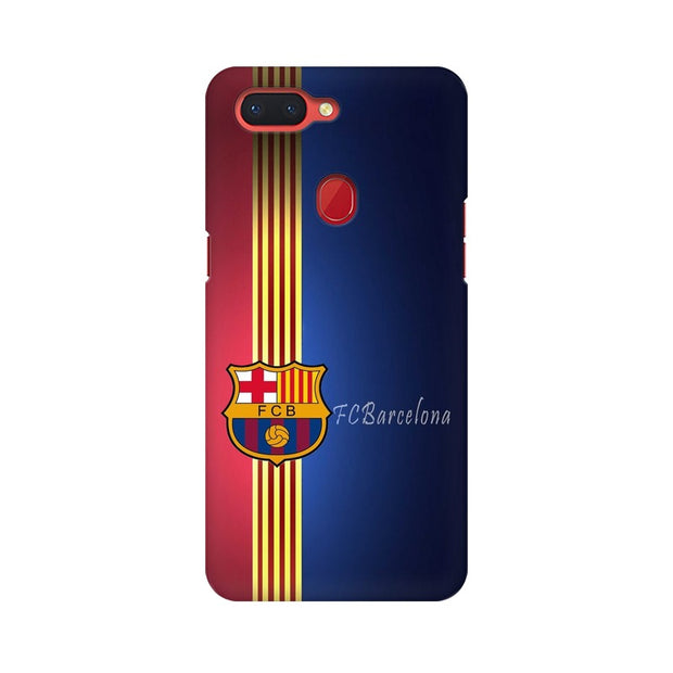Oppo R15 The Barca Crest Phone Cover & Case