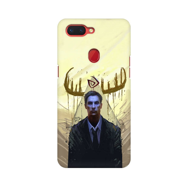 Oppo R15 True Detective Rustin Fan Art Phone Cover & Case