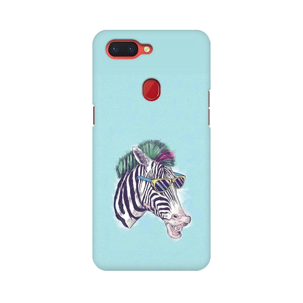 Oppo R15 The Zebra Style Cool Phone Cover & Case