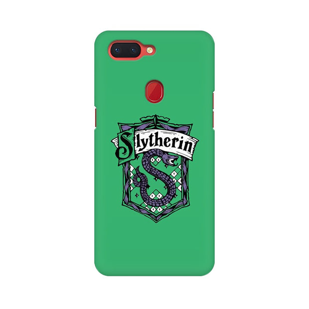 Oppo R15 Slytherin House Crest Harry Potter Phone Cover & Case