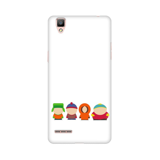 Oppo R9 South Park Minimal Phone Cover & Case