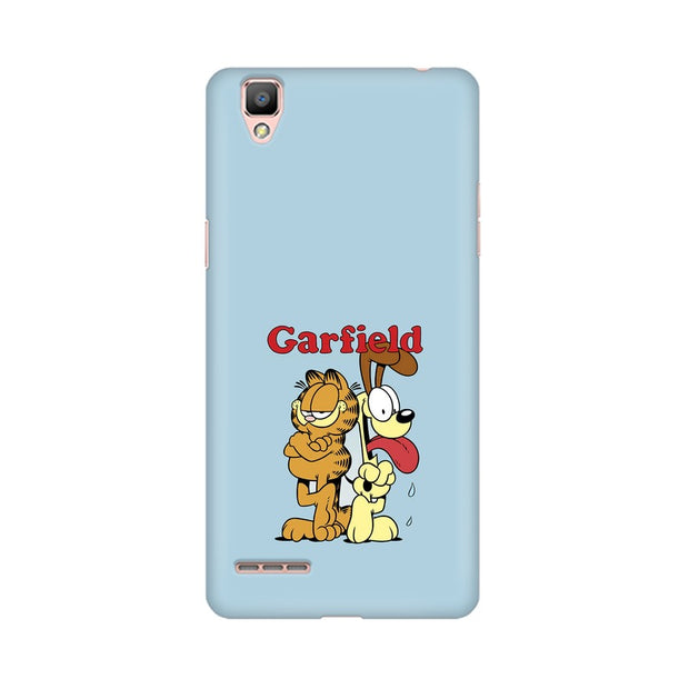 Oppo R9 Garfield & Odie Phone Cover & Case