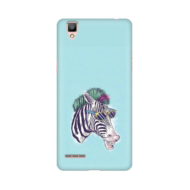 Oppo R9 The Zebra Style Cool Phone Cover & Case