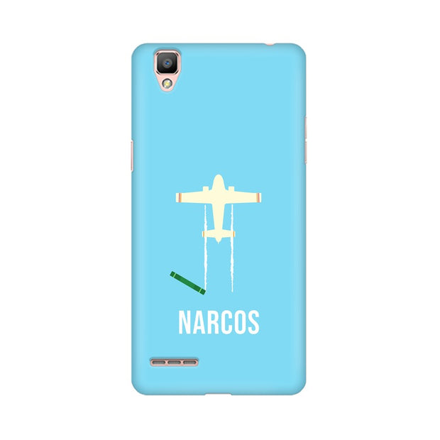 Oppo R9 Narcos TV Series  Minimal Fan Art Phone Cover & Case