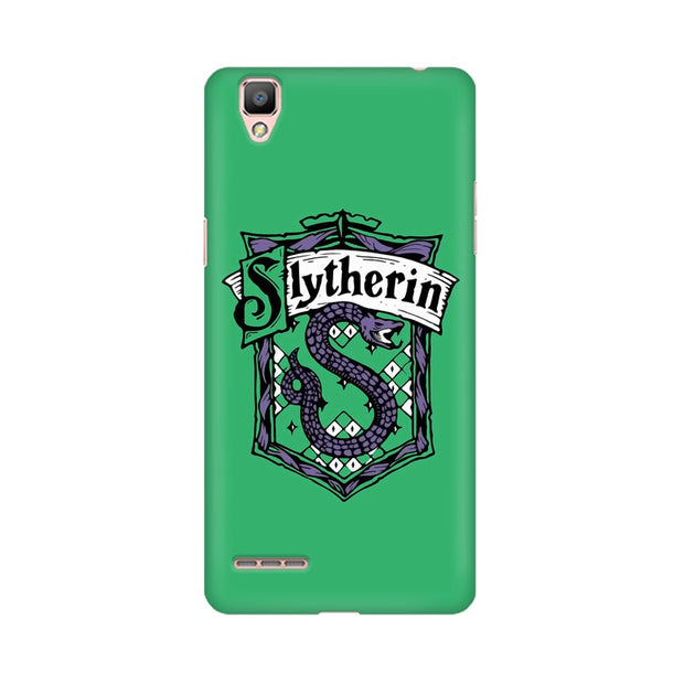 Oppo R9 Slytherin House Crest Harry Potter Phone Cover & Case