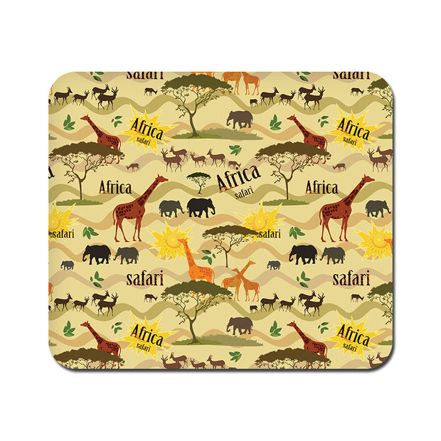 Large African Safari Mousepad