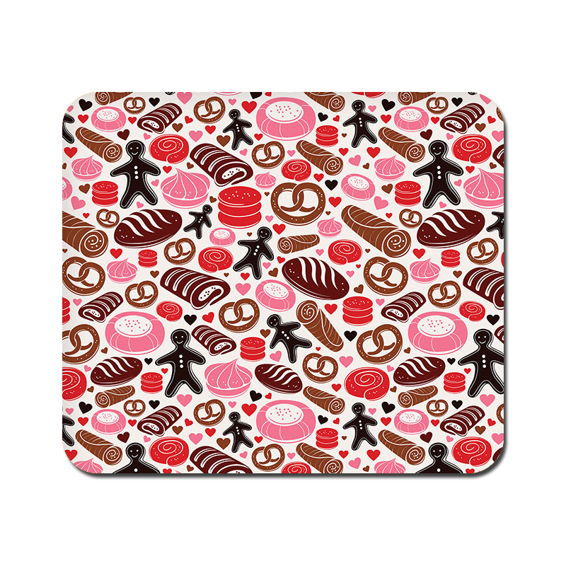 Large Bakery Love Mousepad