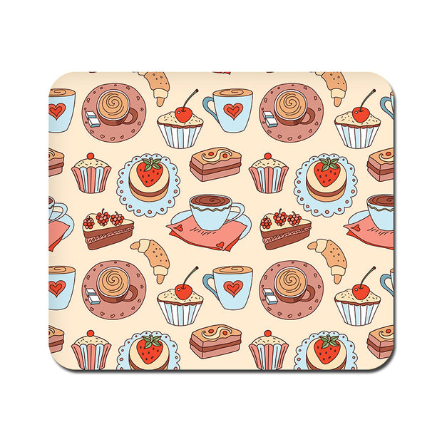 Large Blissful Confectionary Mousepad