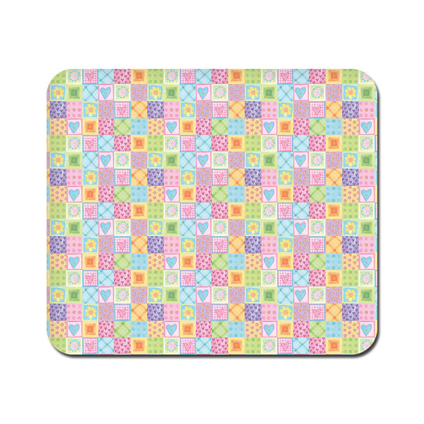 Large Abtract Heart Fusion Mousepad