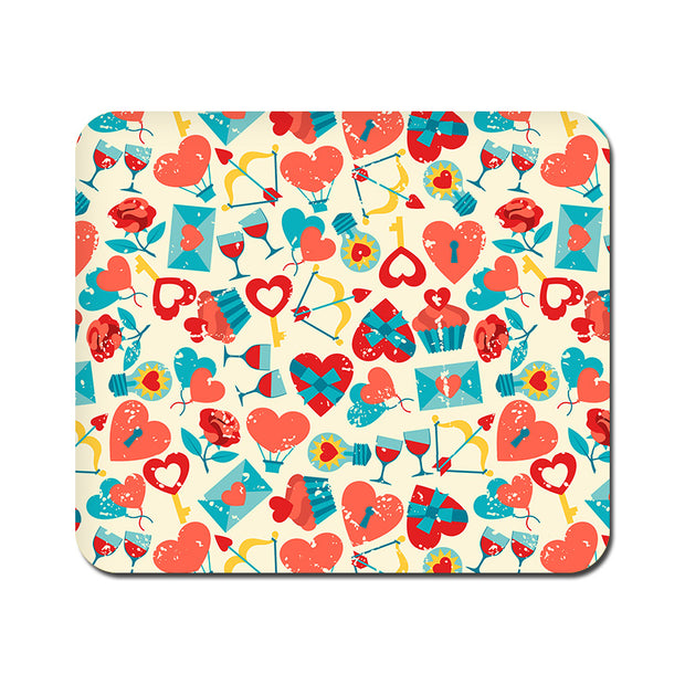 Large Be my Valentine Mousepad