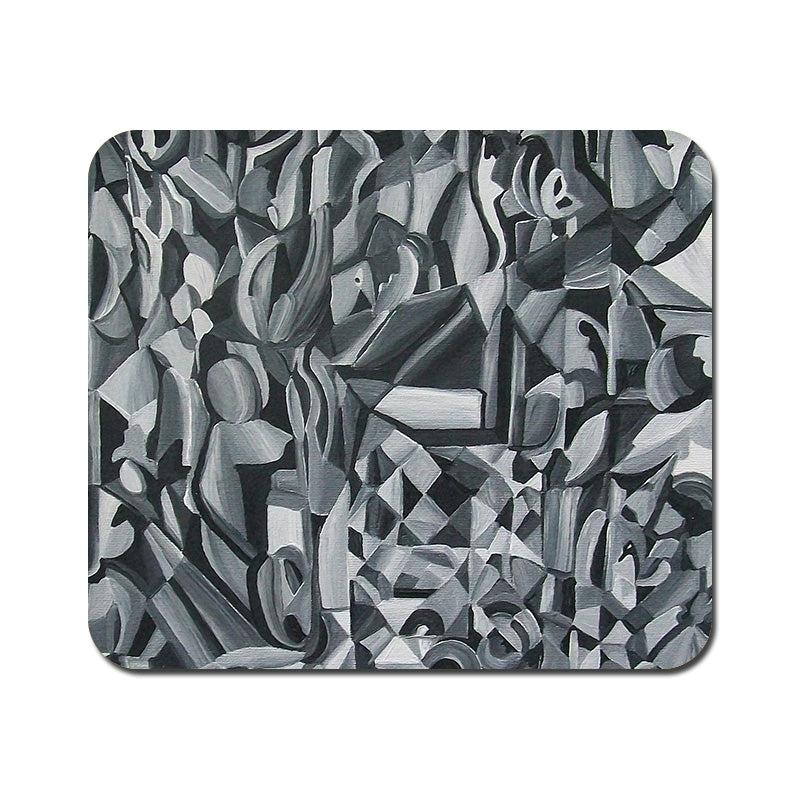 Large Abstract Texture Mousepad