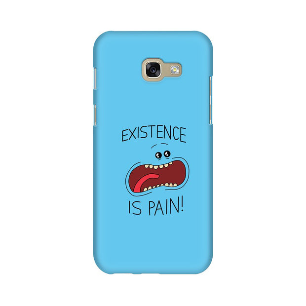Samsung A7 2017 Existence Is Pain Mr Meeseeks Rick & Morty Phone Cover & Case