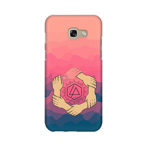 Samsung A7 2017 Linkin Park Logo Chester Tribute Phone Cover & Case