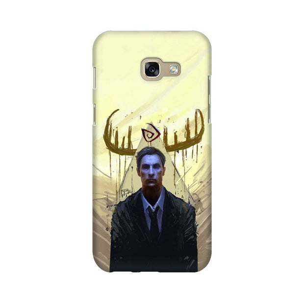 Samsung A7 2017 True Detective Rustin Fan Art Phone Cover & Case