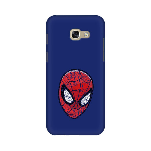 Samsung A7 2017 Spider Man Graphic Fan Art Phone Cover & Case
