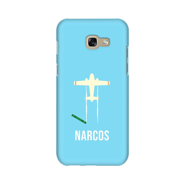 Samsung A7 2017 Narcos TV Series  Minimal Fan Art Phone Cover & Case
