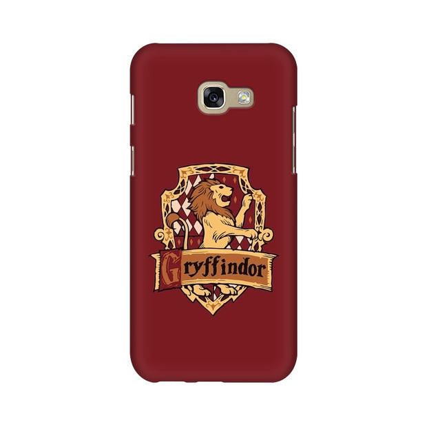 Samsung A7 2017 Gryffindor House Crest Harry Potter Phone Cover & Case