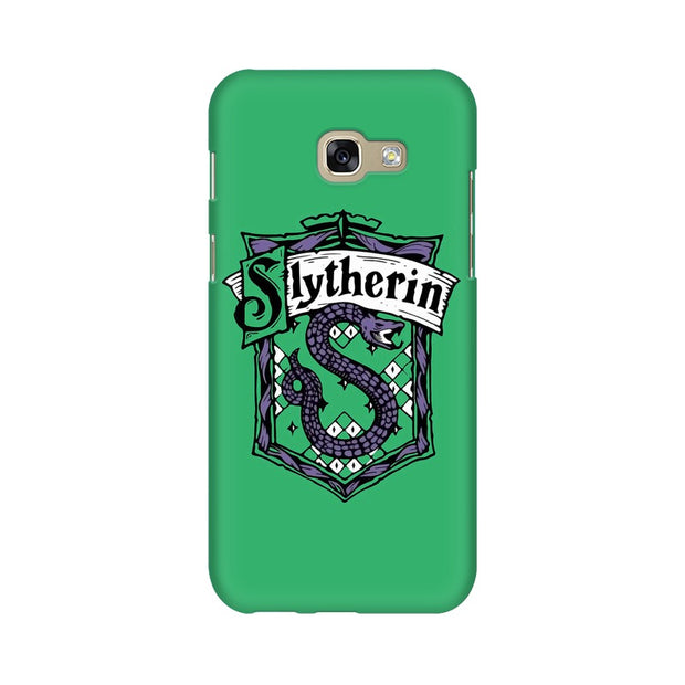 Samsung A7 2017 Slytherin House Crest Harry Potter Phone Cover & Case
