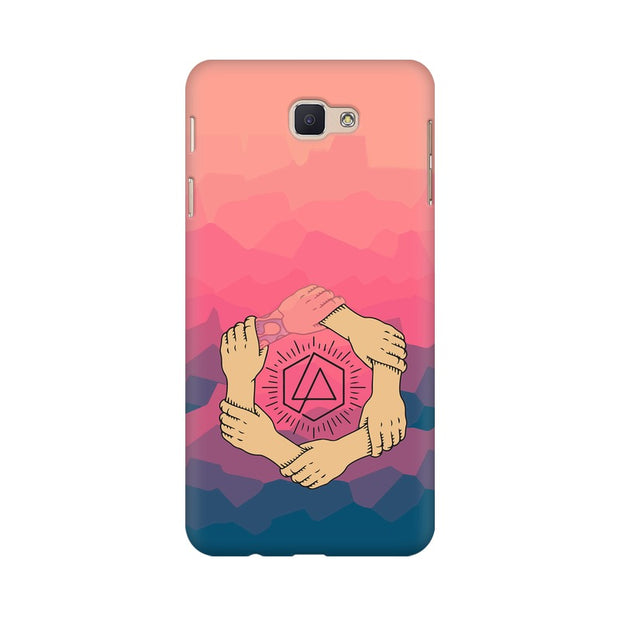 Samsung J5 Prime Linkin Park Logo Chester Tribute Phone Cover & Case