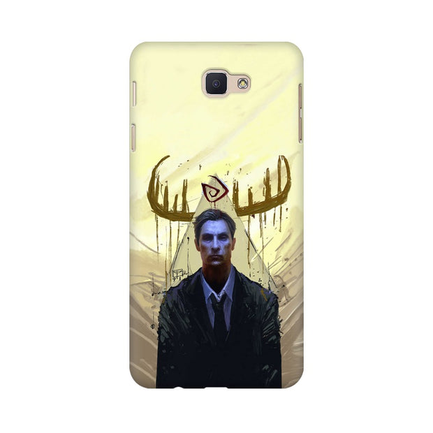Samsung J5 Prime True Detective Rustin Fan Art Phone Cover & Case