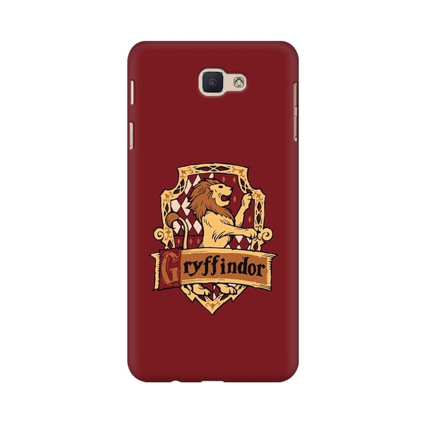 Samsung J5 Prime Gryffindor House Crest Harry Potter Phone Cover & Case